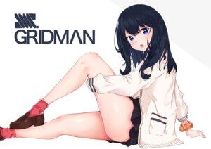 Rating: Questionable Score: 21 Tags: aoi_kurora seifuku skirt_lift ssss.gridman sweater takarada_rikka User: BattlequeenYume