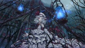 Rating: Safe Score: 24 Tags: daradarahundosi dress pointy_ears remilia_scarlet touhou wings User: BattlequeenYume