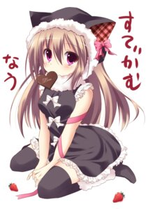 Rating: Safe Score: 41 Tags: animal_ears dress marotti thighhighs valentine User: KerrigN