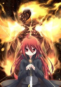 Rating: Safe Score: 19 Tags: horns makadamixa shakugan_no_shana shana soru22 sword User: tbchyu001