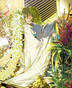 Rating: Safe Score: 35 Tags: hatsune_miku japanese_clothes kimono starpri vocaloid User: Mr_GT