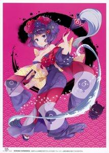 Rating: Safe Score: 21 Tags: cleavage fate/grand_order katsushika_hokusai_(fate/grand_order) kimono open_shirt qp:flapper sakura_koharu User: Hatsukoi