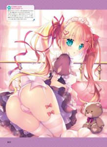 Rating: Questionable Score: 42 Tags: ass bra cameltoe maid mikeou pantsu see_through skirt_lift stockings thighhighs User: Twinsenzw
