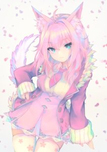 Rating: Safe Score: 21 Tags: animal_ears otogi_kyouka see_through tail thighhighs User: Mr_GT