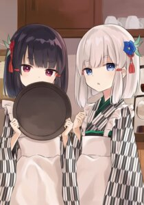 Rating: Safe Score: 59 Tags: azure0608 japanese_clothes waitress User: KazukiNanako