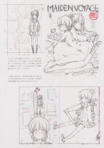 Rating: Explicit Score: 9 Tags: ass heels naked nipples oyari_ashito pussy seifuku shoujo_kishidan sketch tagme User: Radioactive