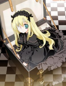 Rating: Safe Score: 20 Tags: crease gothic_lolita lolita_fashion miyashita_miki User: MugiMugi