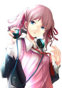 Rating: Safe Score: 19 Tags: headphones pokimari seifuku User: Radioactive
