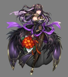 Rating: Questionable Score: 20 Tags: cleavage fire_emblem fire_emblem_heroes fire_emblem_kakusei nintendo pantyhose senchat tharja transparent_png wings User: Radioactive