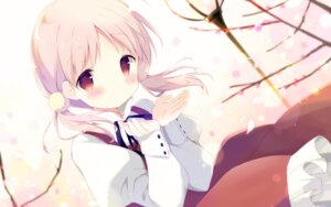 Rating: Safe Score: 85 Tags: dress kiriyama_sakura sakura_musubi shiratama wallpaper User: edogawaconan