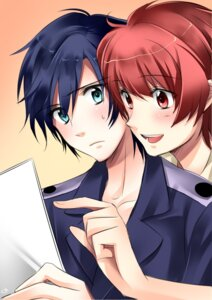 Rating: Safe Score: 4 Tags: choco-moyasiya ichinose_tokiya ittoki_otoya male uta_no_prince_sama User: charunetra