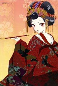 Rating: Safe Score: 28 Tags: kimono mori_yuusa yuugiri_(zombieland_saga) zombieland_saga User: drop