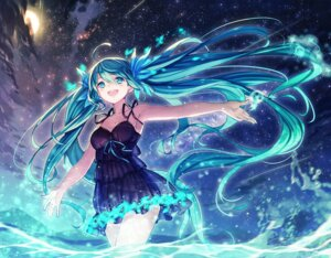 Rating: Safe Score: 58 Tags: cleavage dress hatsune_miku pen vocaloid wet User: Mr_GT