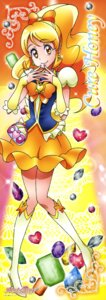 Rating: Safe Score: 8 Tags: happiness_charge_precure! heels oomori_yuuko pretty_cure satou_masayuki stick_poster User: drop