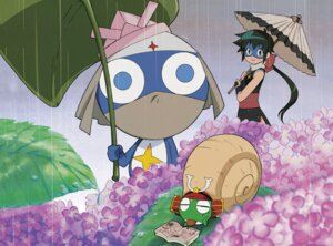 Rating: Questionable Score: 4 Tags: azumaya_koyuki dororo keroro keroro_gunsou megane ninja User: koyukidono