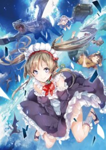 Rating: Questionable Score: 46 Tags: dress maid monster outbreak_company pointy_ears see_through skirt_lift tagme thighhighs yuugen User: Twinsenzw