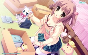 Rating: Safe Score: 78 Tags: cleavage neko skyfish thighhighs wallpaper yukie User: kyt30