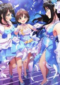 Rating: Safe Score: 33 Tags: cleavage dress heels honda_mio shibuya_rin shimamura_uzuki sonsoso the_idolm@ster the_idolm@ster_cinderella_girls User: yanis