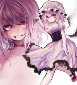 Rating: Safe Score: 16 Tags: corset dress goose_h pointy_ears remilia_scarlet touhou User: Nekotsúh