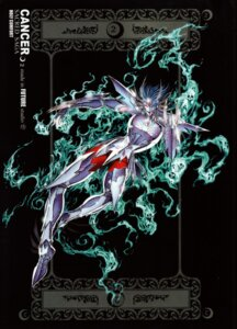 Rating: Questionable Score: 4 Tags: cancer_deathmask saint_seiya tagme User: Radioactive