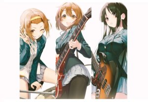 Rating: Safe Score: 30 Tags: akiyama_mio guitar hirasawa_yui k-on! pantyhose pro-p seifuku tainaka_ritsu User: Dreista