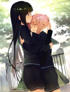Rating: Safe Score: 45 Tags: akinashi_yuu seifuku yuri User: drop