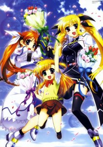 Rating: Safe Score: 22 Tags: fate_testarossa mahou_shoujo_lyrical_nanoha mahou_shoujo_lyrical_nanoha_strikers okuda_yasuhiro overfiltered takamachi_nanoha thighhighs vivio User: Share