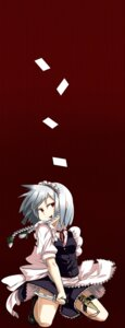 Rating: Safe Score: 3 Tags: garter izayoi_sakuya konro maid touhou User: charunetra