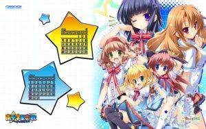 Rating: Safe Score: 24 Tags: calendar elise_rosenthal fujina_kanori game-style hasami_miyako lucie minami_juujisei_renka naraoka_mitsuki studio_ryokucha tsutsumi_sakuya wallpaper User: moonian