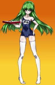 Rating: Questionable Score: 13 Tags: c.c. code_geass maetaku school_swimsuit swimsuits thighhighs User: CC