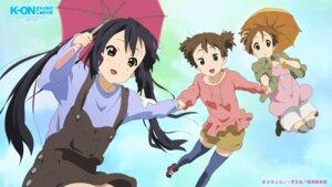 Rating: Safe Score: 8 Tags: hirasawa_ui k-on! nakano_azusa possible_duplicate suzuki_jun thighhighs umbrella User: For.Infi