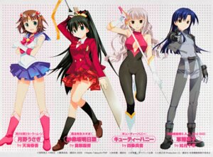 Rating: Safe Score: 29 Tags: amami_haruka bodysuit cosplay cutie_honey fujima_takuya ganaha_hibiki ghost_in_the_shell kisaragi_chihaya mahou_sensei_negima sailor_moon screening seifuku shijou_takane sword the_idolm@ster the_idolm@ster_break! User: fireattack
