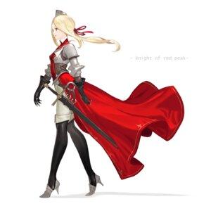 Rating: Safe Score: 13 Tags: armor heels keemu pantyhose sword thighhighs User: Dreista