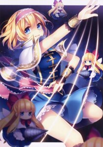 Rating: Safe Score: 47 Tags: alice_margatroid masaru shanghai touhou weapon wings User: Mr_GT
