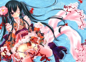 Rating: Questionable Score: 16 Tags: gintama kimono pantsu shiromomo yagyuu_kyuubei User: petopeto