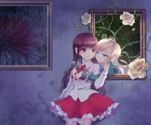 Rating: Safe Score: 29 Tags: eve_(ib) ib mary_(ib) mimika yuri User: fairyren