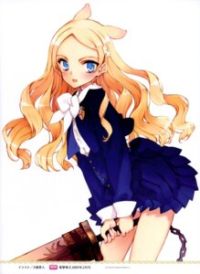 Rating: Safe Score: 15 Tags: ingrid oyari_ashito seifuku seiken_no_faeries sword User: admin2