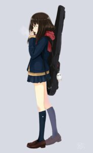 Rating: Safe Score: 21 Tags: ashiya_hiro guitar seifuku sweater User: saemonnokami