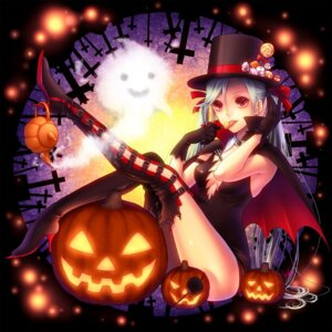 Rating: Safe Score: 20 Tags: halloween kayu thighhighs witch User: Shamensyth