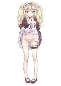 Rating: Questionable Score: 111 Tags: boku_wa_tomodachi_ga_sukunai garter hasegawa_kobato heterochromia loli pantsu skirt_lift string_panties suzuki24 thighhighs User: Radioactive