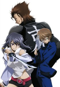 Rating: Safe Score: 5 Tags: akito_the_exiled armor code_geass kousaka_ayano naruse_yukiya sayama_ryou sword User: drop
