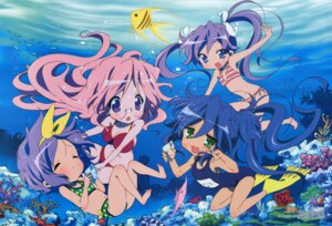 Rating: Safe Score: 30 Tags: bikini cleavage hiiragi_kagami hiiragi_tsukasa izumi_konata lucky_star megane school_swimsuit swimsuits takara_miyuki yamada_naoko User: vita