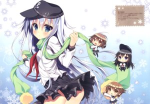 Rating: Questionable Score: 27 Tags: akatsuki_(kancolle) ass chibi chocolate_cube hibiki_(kancolle) ikazuchi_(kancolle) inazuma_(kancolle) kantai_collection miwa_futaba nopan seifuku skirt_lift thighhighs User: Radioactive