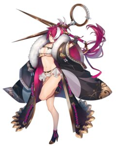Rating: Questionable Score: 22 Tags: bikini_armor cleavage heels open_shirt simanerikotton underboob weapon User: Dreista
