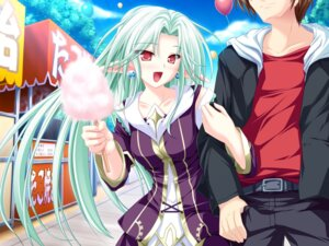 Rating: Safe Score: 12 Tags: cecile_absentia elf game_cg magus_tale pointy_ears tenmaso User: charunetra