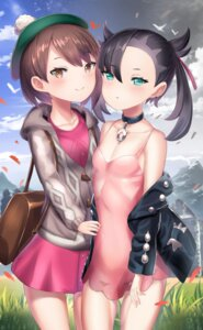 Rating: Safe Score: 26 Tags: cleavage dress female_protagonist_(pokemon_swsh) mary_(pokemon) pokemon_sword_and_shield unizou_(artist) User: Mr_GT