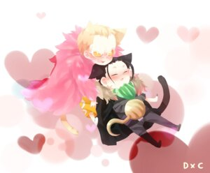 Rating: Safe Score: 3 Tags: 132_(asaka) animal_ears chibi crocodile donquixote_doflamingo male one_piece tail User: vanilla