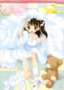 Rating: Safe Score: 27 Tags: azuma_yuki dress undressing wedding_dress User: Kalafina