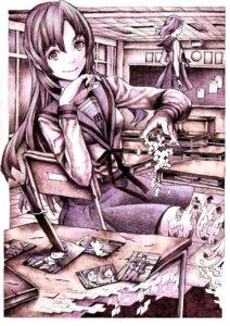 Rating: Safe Score: 5 Tags: asakura_ryouko monochrome nobita seifuku suzumiya_haruhi_no_yuuutsu User: Radioactive