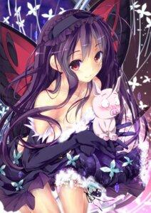 Rating: Safe Score: 89 Tags: accel_world haruyuki_arita kuroyukihime wings yagami_shuuichi User: 椎名深夏
